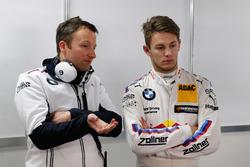 Marco Wittmann, BMW Team RMG, BMW M4 DTM, mit Renningenieur Michael Kissling