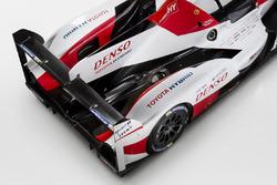Detalle del Toyota TS050 Hybrid de 2017