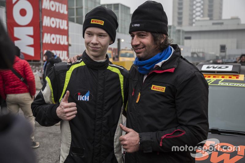Kalle Rovanpera, Ford Fiesta WRC, con Alessandro Perico