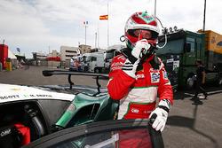GTE-Polesitter: Matt Griffin, Spirit of Race