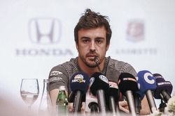 Fernando Alonso announces his deal to race in the 2017 Indianapolis 500 in an Andretti Autosport run McLaren Honda car