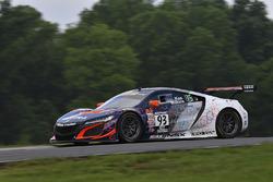 #93 RealTime Racing Acura NSX GT3: Peter Kox, Mark Wilkins