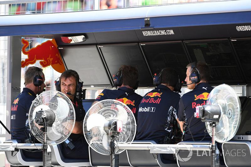 Kommandostand: Red Bull Racing