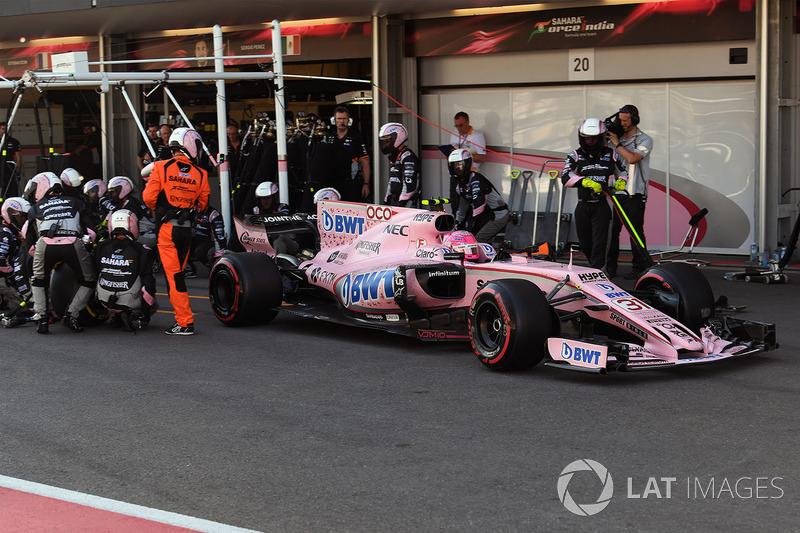 Естебан Окон, Force India Mercedes