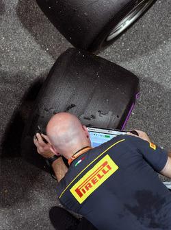 Pirelli mühendisleri ve Pirelli lastikleri