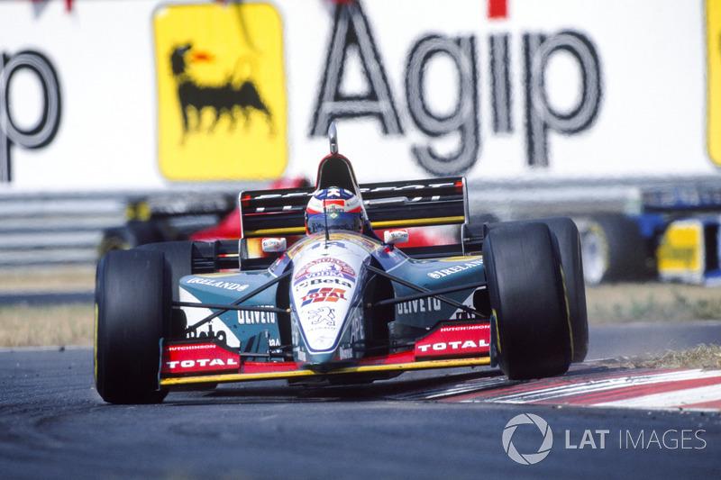 Rubens Barrichello, Jordan 195 Peugeot