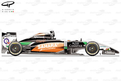 DUPLICATE: Force India VJM07 side view
