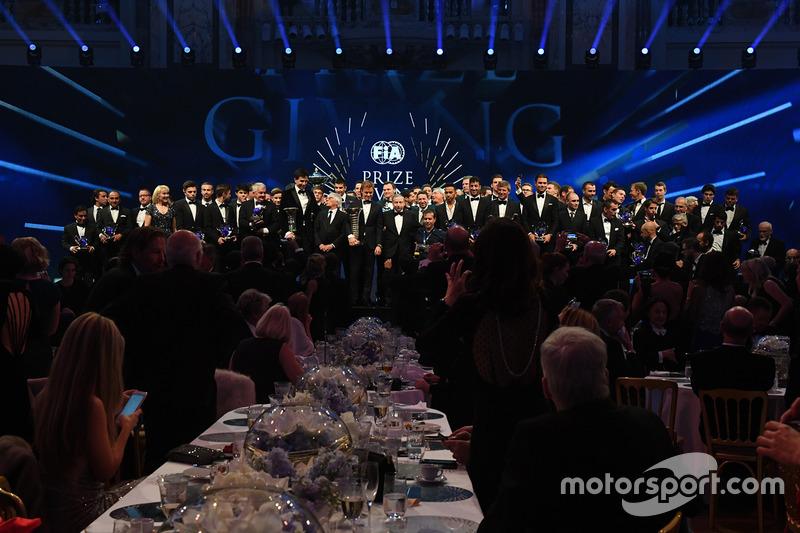 Церемония награждения FIA