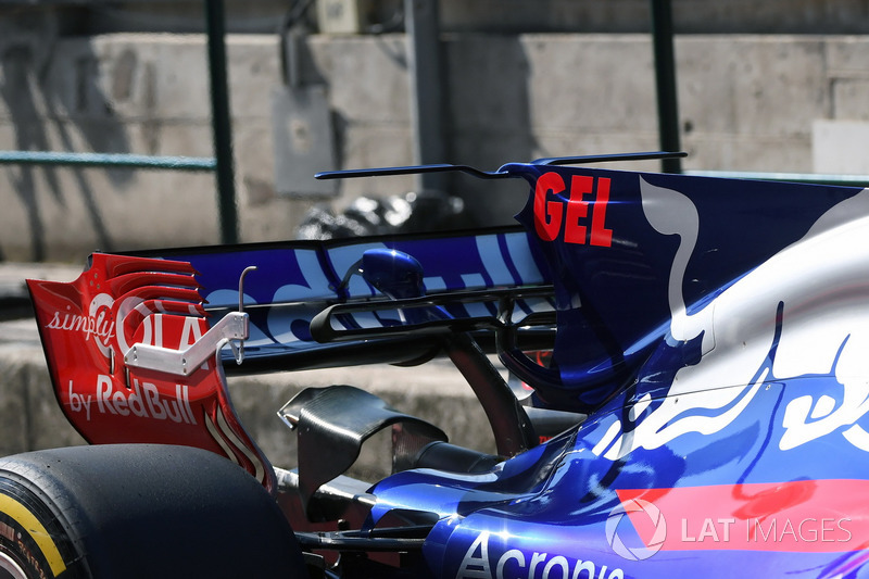 L'aileron arrière de la Toro Rosso STR12