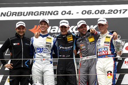 Podium: 1. Josh Files, Target Competition, Honda Civic Type R-TCR, 2. Mike Halder, Wolf-Power Racing, Seat Leon TCR, 3. Niels Langeveld, Racing One, Audi RS3 LMS, Bester Junior Luca Engstler, Liqui Moly Team Engstler, VW Golf GTI TCR