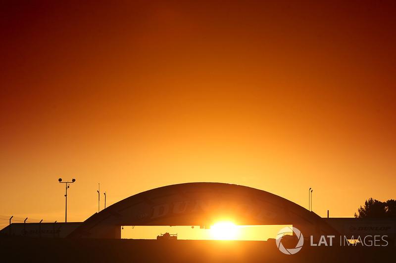 Sunrise at Le Mans