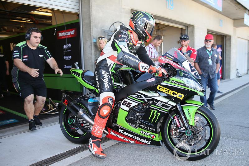 Том Сайкс, Kawasaki Racing