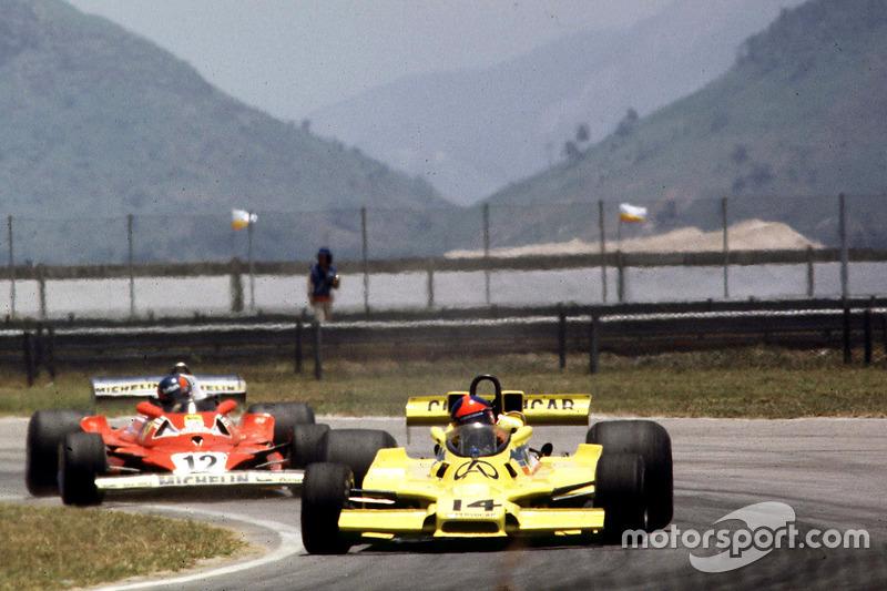Fittipaldi, único piloto da equipe na época, largou da sétima posição, pouco mais de 1s atrás do pole position, Ronnie Peterson.