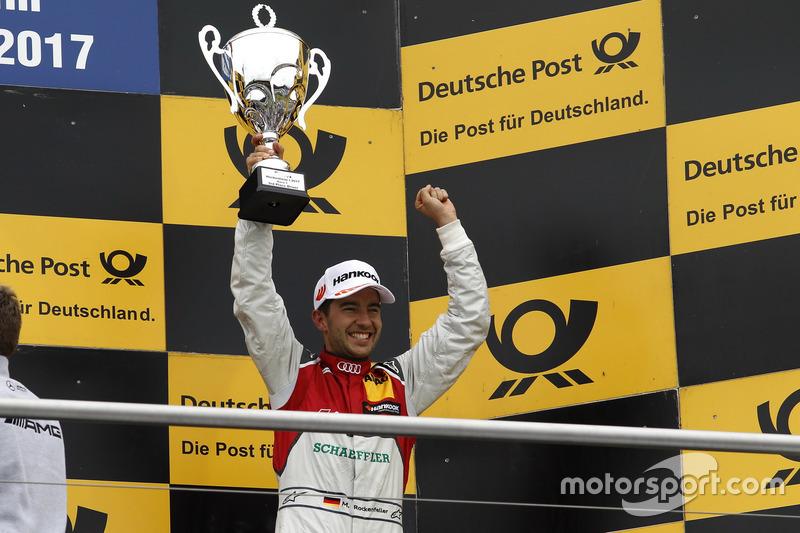 Podium: third place Mike Rockenfeller, Audi Sport Team Phoenix, Audi RS 5 DTM