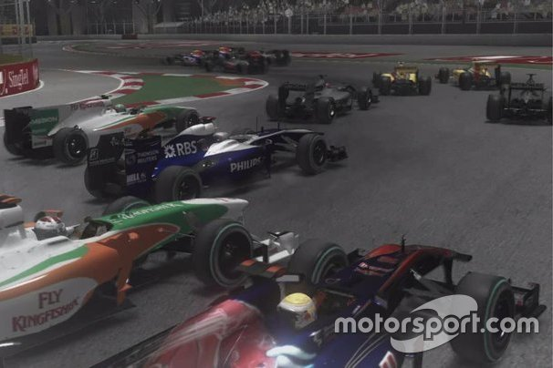 Start, F1 2010