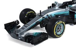 Mercedes AMG F1 W08: Frontpartie