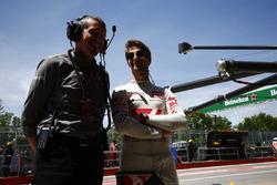 Guenther Steiner, Haas F1 Team, director del equipo, Romain Grosjean, Haas F1 Team