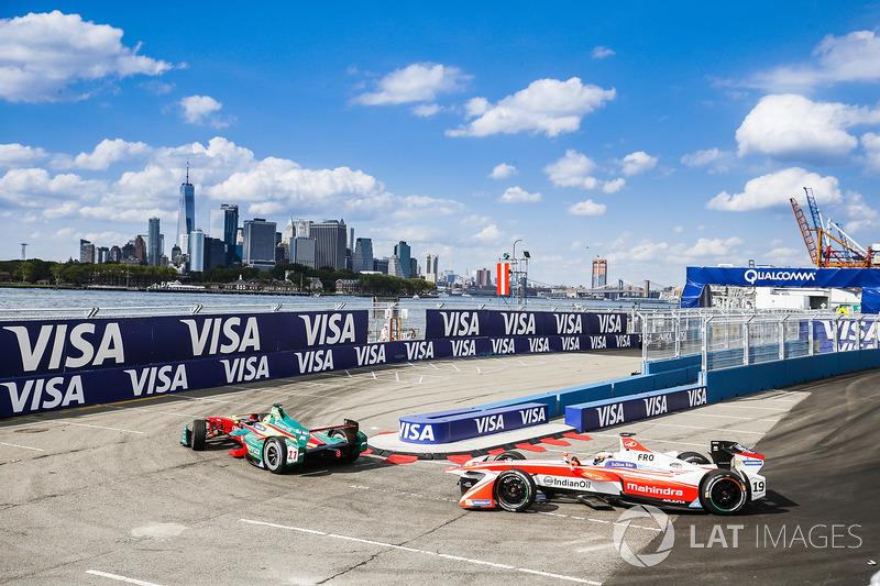 Lucas di Grassi, ABT Schaeffler Audi Sport, Felix Rosenqvist, Mahindra Racing