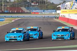 Nicky Catsburg, Thed Björk, Nestor Girolami, Polestar Cyan Racing, Volvo S60 Polestar during MAC3 qualifying