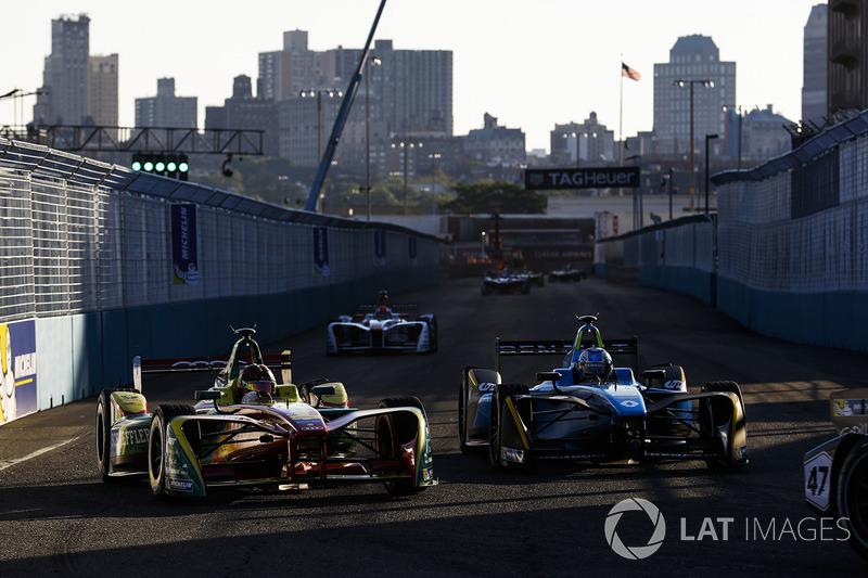 Daniel Abt, ABT Schaeffler Audi Sport y Nicolas Prost, Renault e.Dams