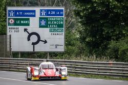 #46 Thiriet by TDS Racing, Oreca 05 Nissan: Pierre Thiriet, Mathias Beche, Ryo Hirakawa