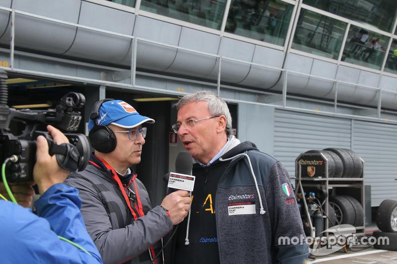 Gentile intervista in pit lane Borghi: a Monza il suo team ha dominato