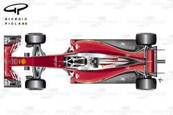 Ferrari SF16H top view