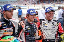Il vincitore Lando Norris, Josef Kaufmann Racing, il secondo classificato Dorian Boccolacci, Tech 1