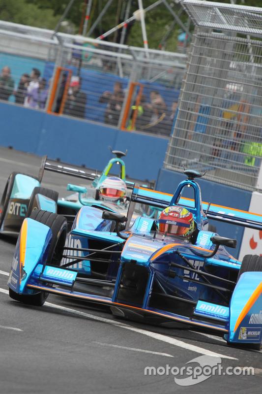 Simona de Silvestro, Amlin Andretti Formula E Team et Nelson Piquet Jr., NEXTEV TCR Formula E Team