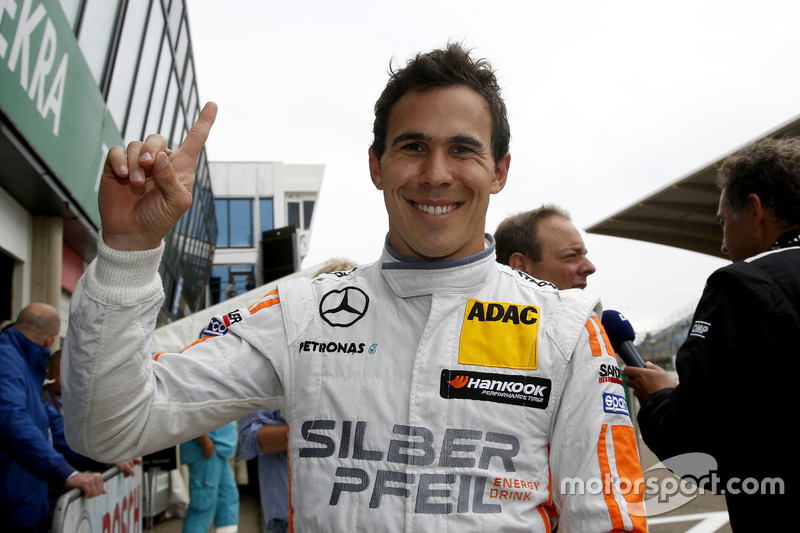 Pole position for Robert Wickens, Mercedes-AMG Team HWA, Mercedes-AMG C63 DTM