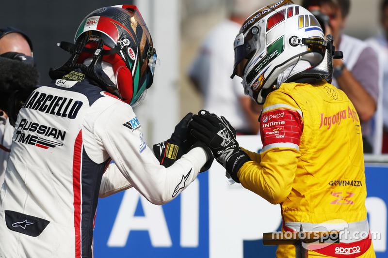 Antonio Giovinazzi, PREMA Racing and Raffaele Marciello, RUSSIAN TIME