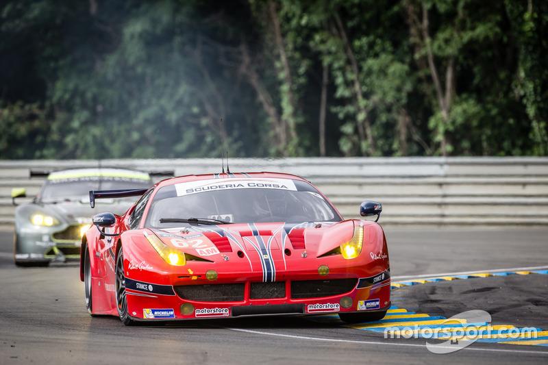 26th: (GTE AM WINNER) #62 Scuderia Corsa Ferrari 458 Italia: Bill Sweedler, Jeff Segal, Townsend Bell