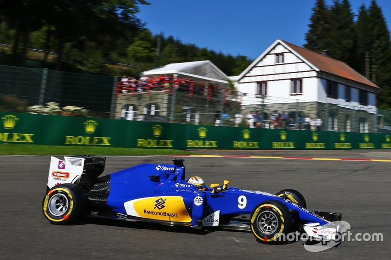 Ausfall: Marcus Ericsson, Sauber C35