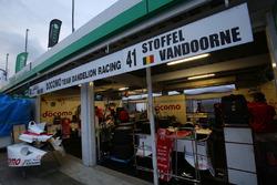 DOCOMO TEAM DANDELION RACINGのガレージ