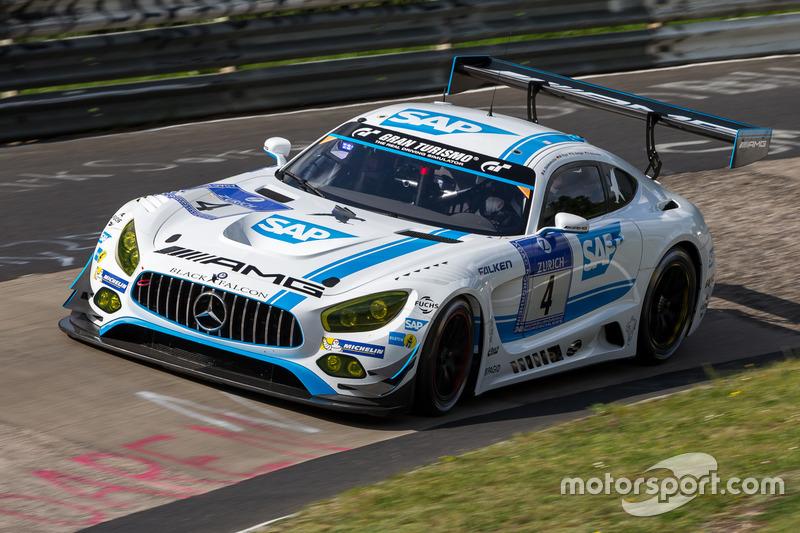 17. #4 AMG-Team Black Falcon, Mercedes-AMG GT3