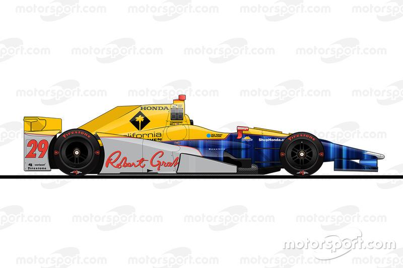 Startpositie 4: Townsend Bell (Andretti-Honda)
