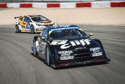 1996er   Cliff Opel Calibra und der 2016er Opel Astra TCR