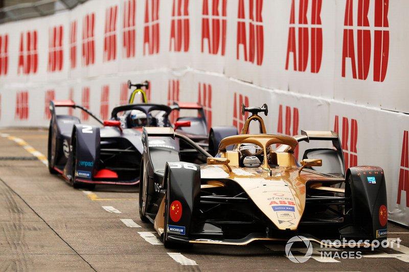 Andre Lotterer, DS TECHEETAH, DS E-Tense FE19, Sam Bird, Envision Virgin Racing, Audi e-tron FE05