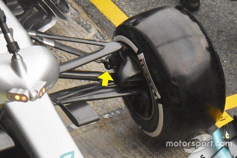 Деталь Mercedes-AMG F1 W10
