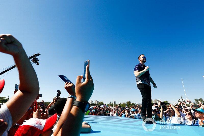 Leon Price, Team, Sporting manager, Envision Virgin Racing, festeggia sul podio