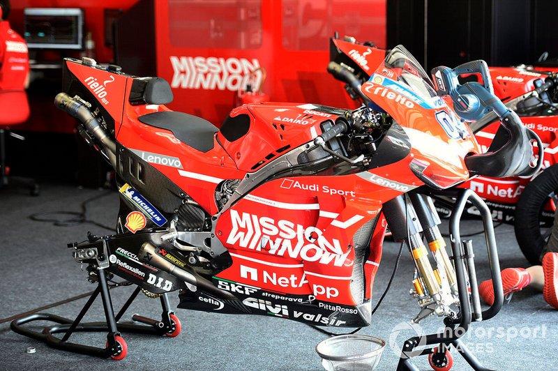 Ducati Team, dettaglio del forcellone
