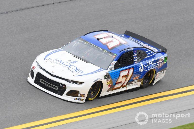 #51: B.J. McLeod, Rick Ware Racing, Chevrolet Camaro