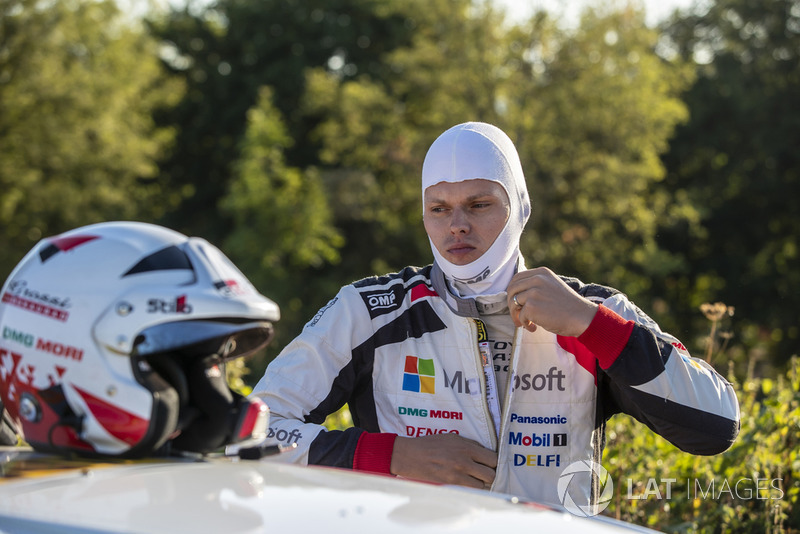 Ott Tanak, Toyota Yaris WRC, Toyota Gazoo Racing