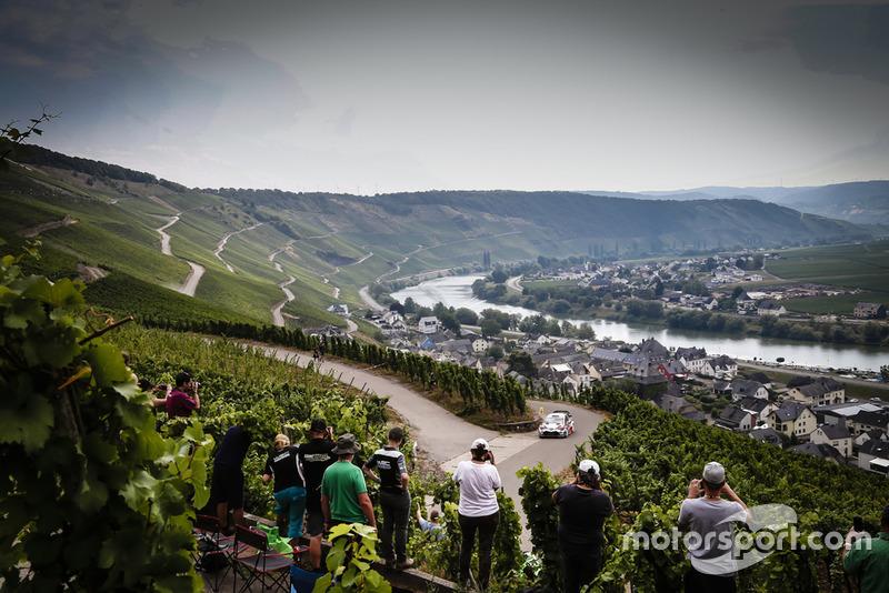 Atmosfera al Rally di Germania