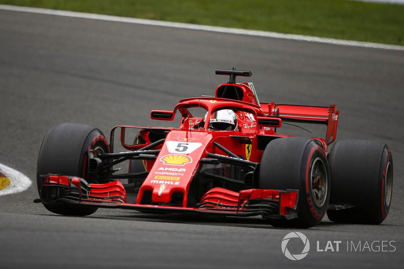 Belgium: Sebastian Vettel