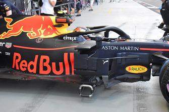 Red Bull side technical detail