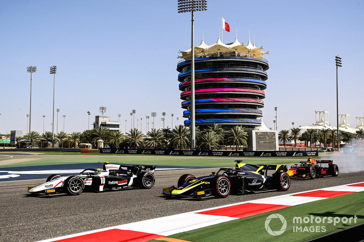 Theo Pourchaire, ART Grand Prix, Dan Ticktum, Carlin and Jehan Daruvala, Carlin