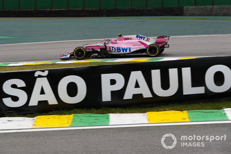 10. Esteban Ocon, Racing Point Force India VJM11