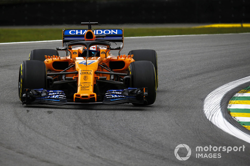 22. Lando Norris, McLaren MCL33