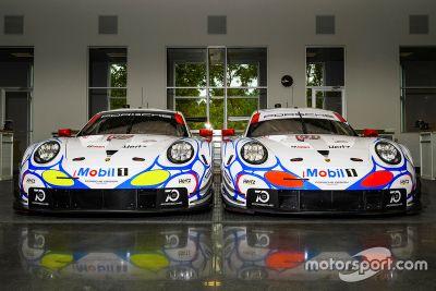 Présentation de la livrée Porsche Team